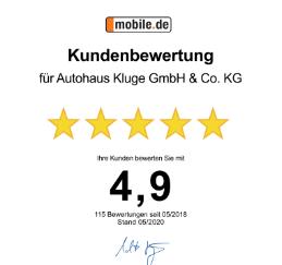 Autohaus Kluge bei mobile.de